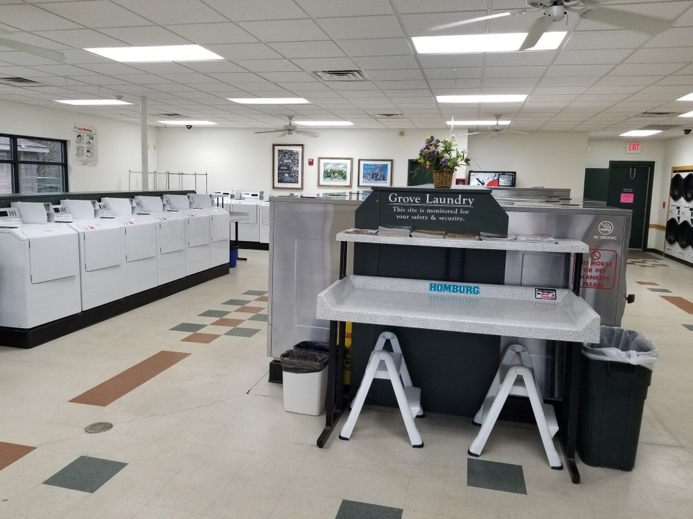 Grove Laundry: 435 W Oak St, Cottage Grove, WI