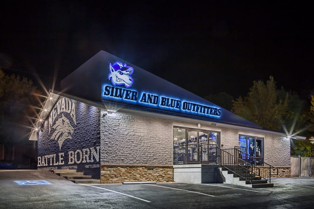 Silver and Blue Outfitters
