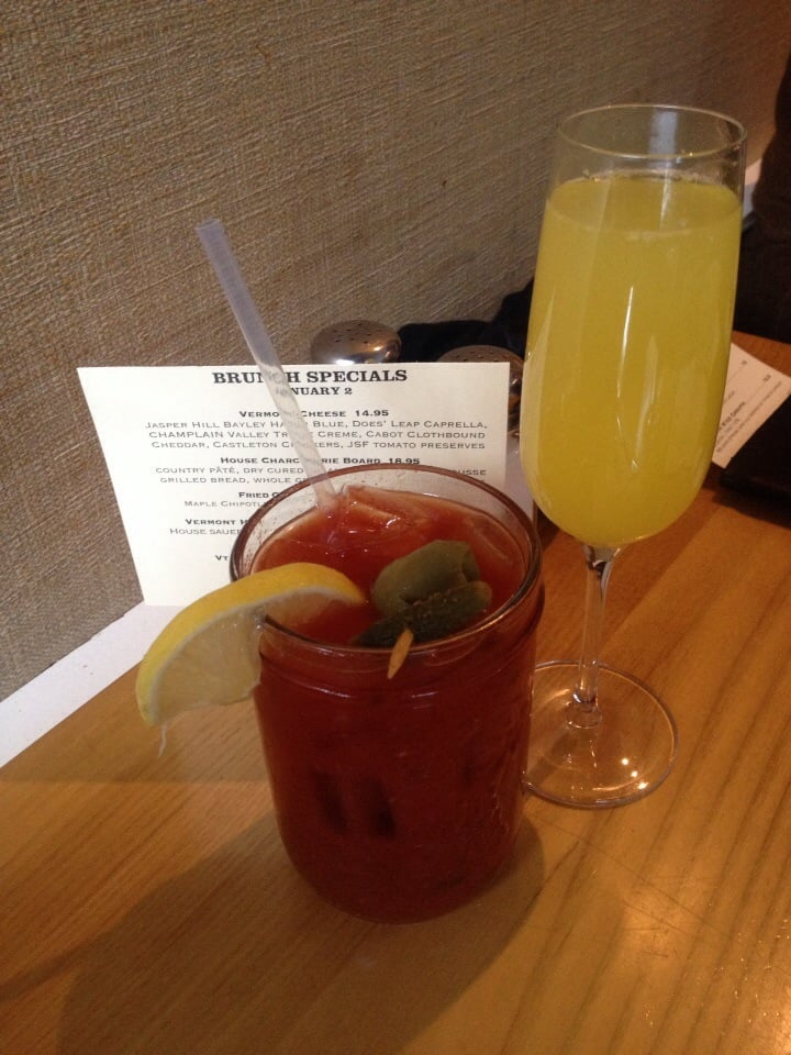 Bloody Mary and mimosa Yelp