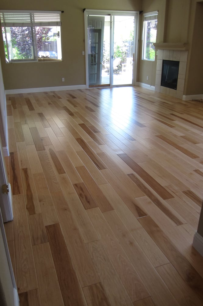 Natural Hickory Engineered Hardwood Flooring 5 Quot Wide