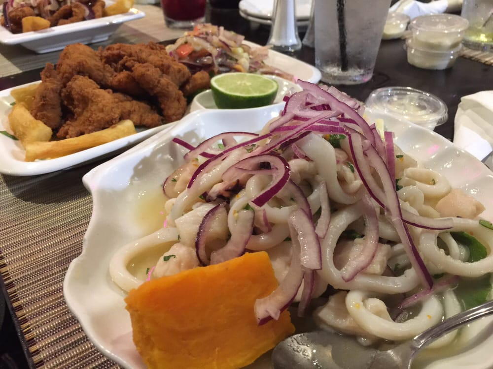 Mixed ceviche and fried fish platter yelp for Fried fish near me