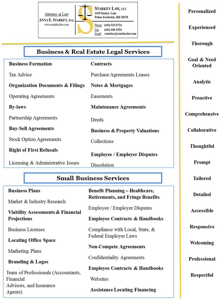 Business Real Estate Law Services Starkey Law Llc Yelp