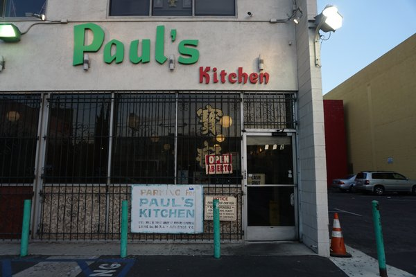 Outstanding Pauls Kitchen 1012 S San Pedro St Los Angeles Ca Home Interior And Landscaping Pimpapssignezvosmurscom