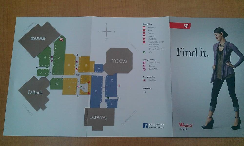 Broward Mall Map map   Yelp