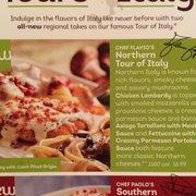 Northern Tour Of Italy Menu Olive Garden Italian Restaurant Buena Park