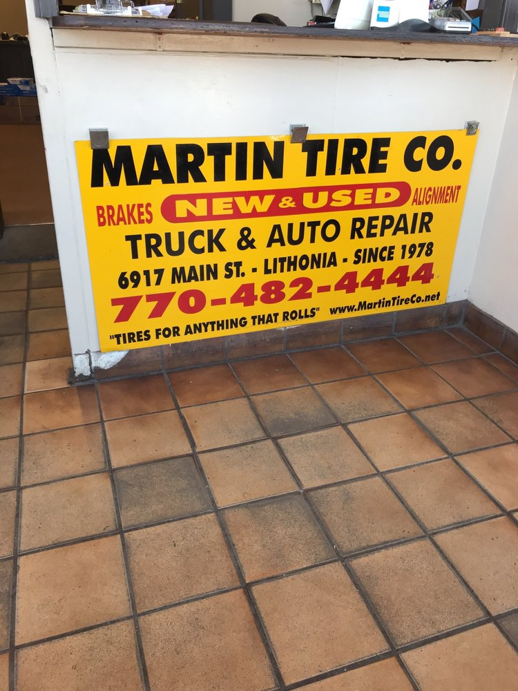 Martin Tire Co: 6917 Main St, Lithonia, GA