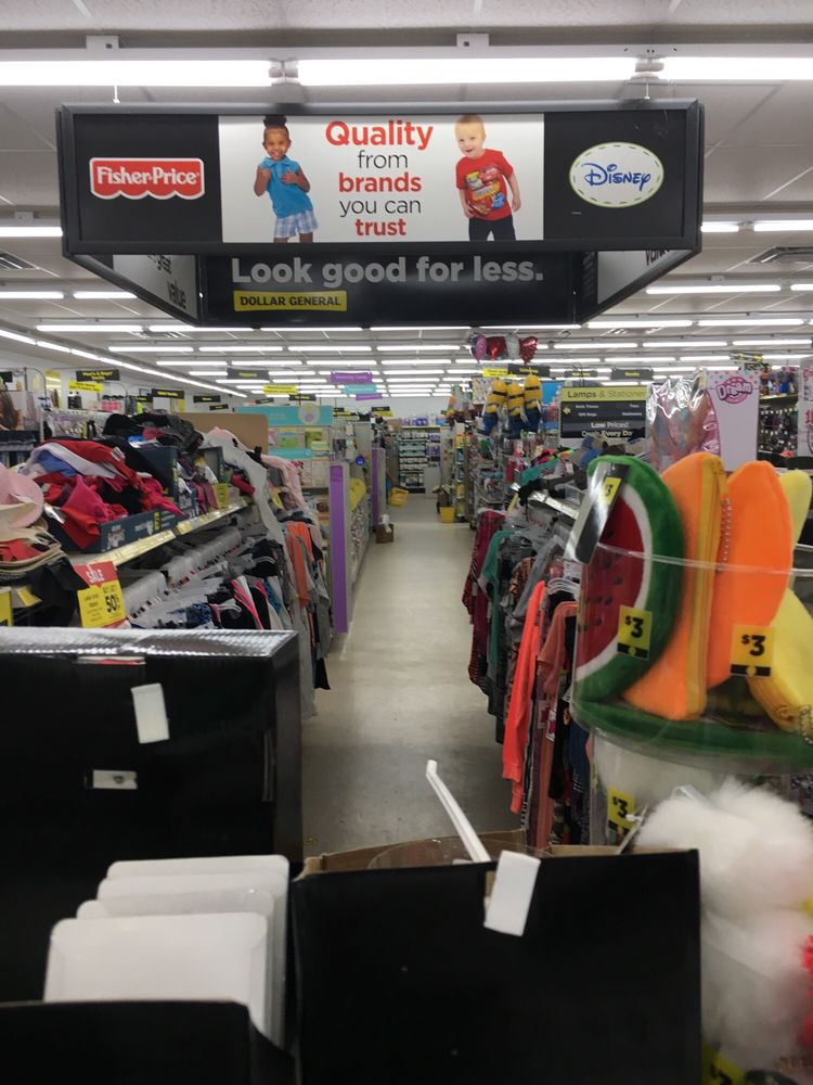 Dollar General Store: 120 W Main St, Boonville, NC