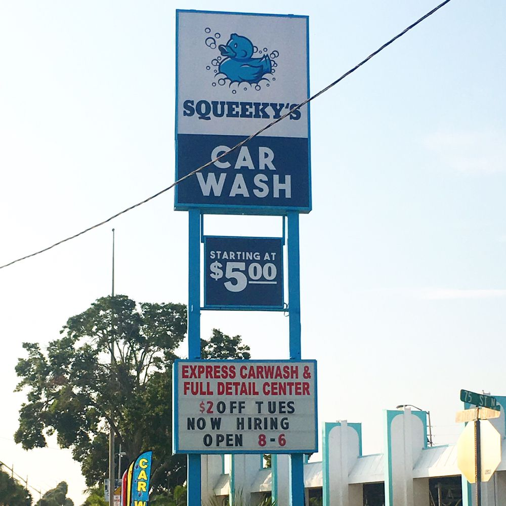 Squeeky's Car Wash: 3264 Tyrone Blvd N, Saint Petersburg, FL