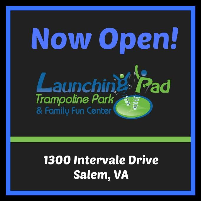 Launching Pad Trampoline Park: 1300 Intervale Dr, Salem, VA