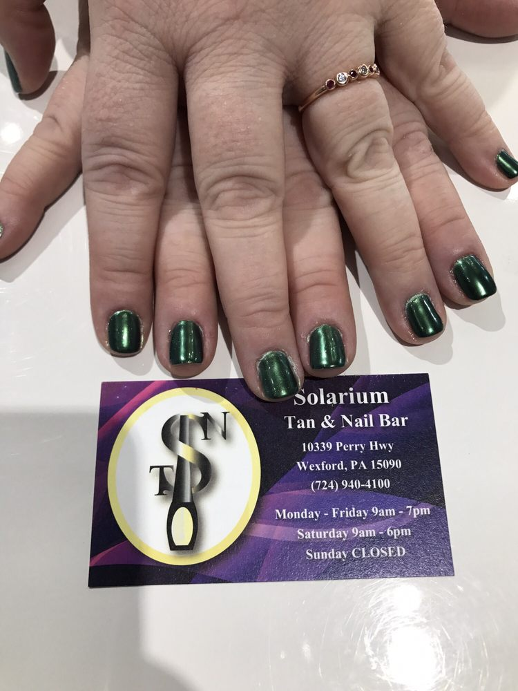 Solarium Tan & Nail Bar: 10339 Perry Hwy, Wexford, PA
