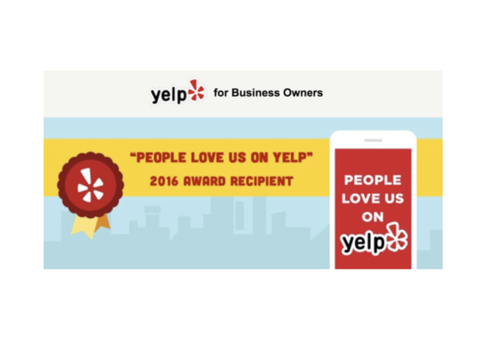 Menu For Olive Garden: People Love Us On Yelp- 2016 Award