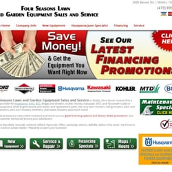 Great Photo Of Four Seasons Lawn And Garden Equipment Sales And Service   Shiloh,  OH,