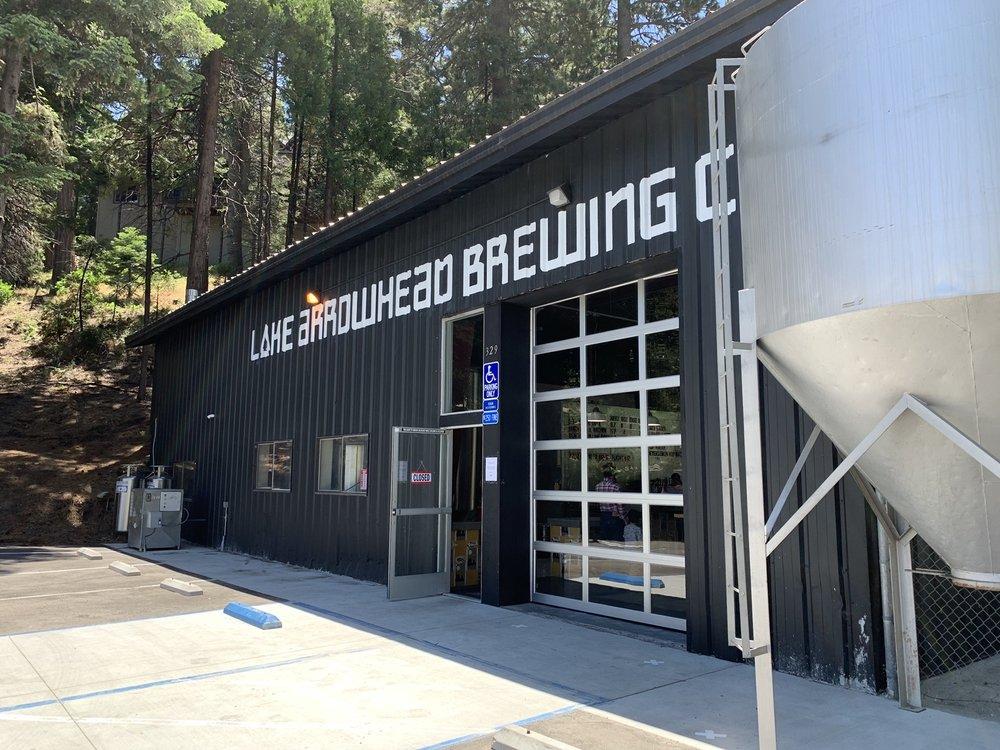 Lake Arrowhead Brewing: 329 Villa Way, Lake Arrowhead, CA