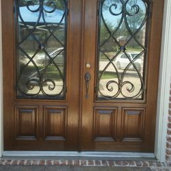 Bon Photo Of Cu0026J Front Door Refinishing Services   South Houston, TX, United  States