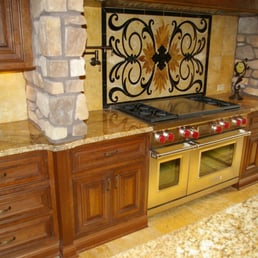 Photo Of Granite Accents   Colorado Springs, CO, United States. Tuscan  Style Kitchen
