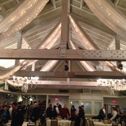 Inside Wedding Ceremony Photo Of Barker Tavern Scituate Ma United States