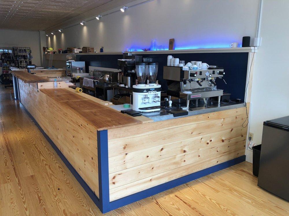Downshift Coffee: 39 Main St, Belfast, ME