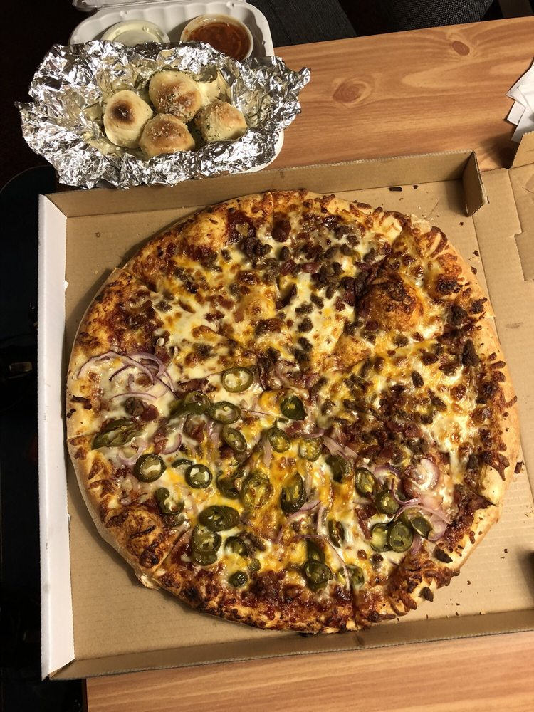 Food from HomeSlice Pizza