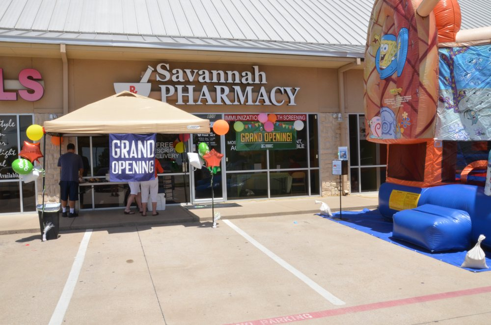 Savannah Pharmacy: 26795 E Hwy 380, Aubrey, TX