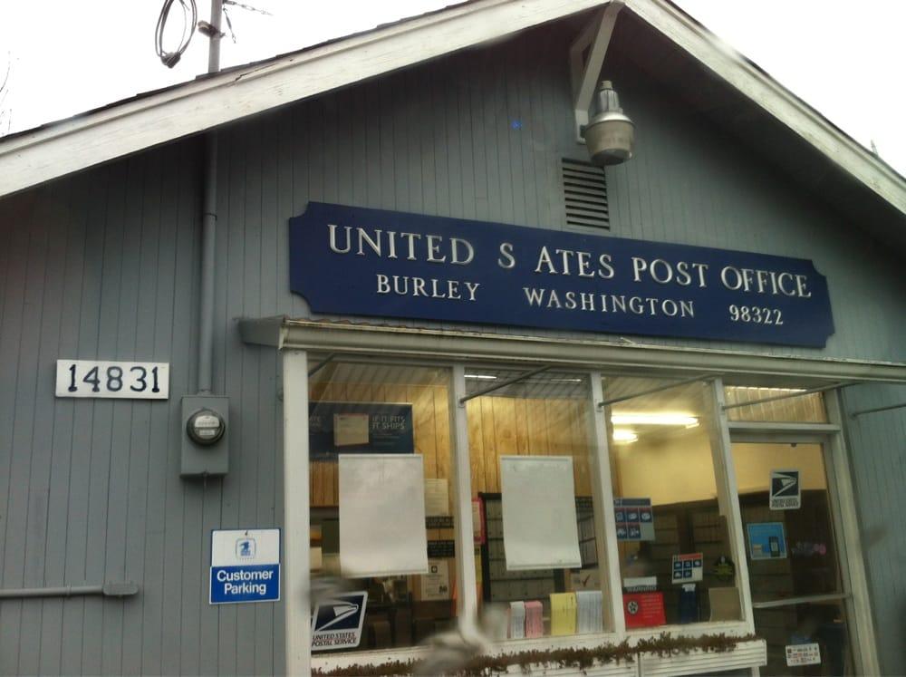 US Post Office: 14831 Burley Ave, Burley, WA