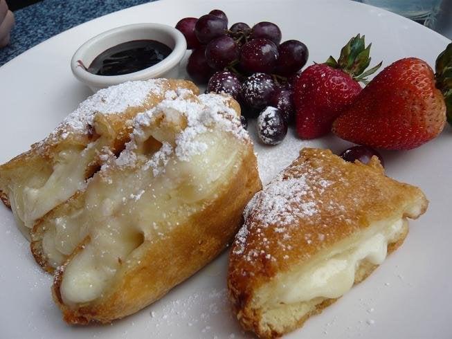 Image result for Three-Cheese Monte Cristo