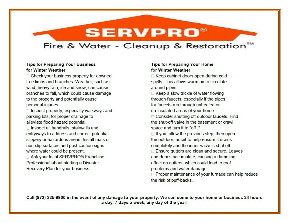 SERVPRO of South Frisco/The Colony: 207 King Rd, Frisco, TX