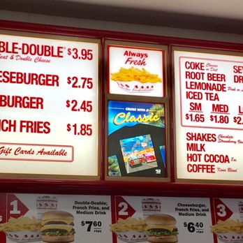 In And Out Prices >> In N Out Burger 405 Photos 271 Reviews Burgers 445