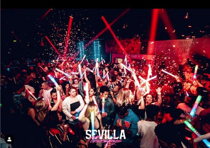Sevilla Nightclub of Long Beach