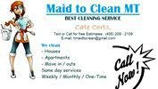 Maid To Clean MT: Belgrade, MT