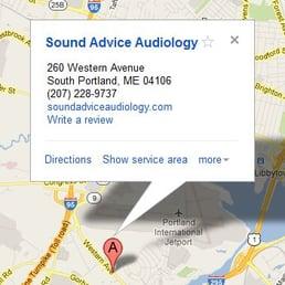 sound advice audiology closed audiologist 260 western ave south portland me phone. Black Bedroom Furniture Sets. Home Design Ideas