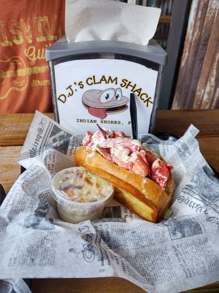 Food from DJs Clam Shack