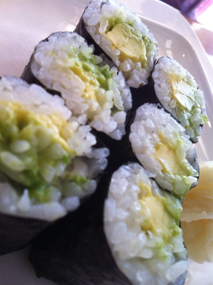 Avocado rolls yelp for Adaro sushi pan asian cuisine
