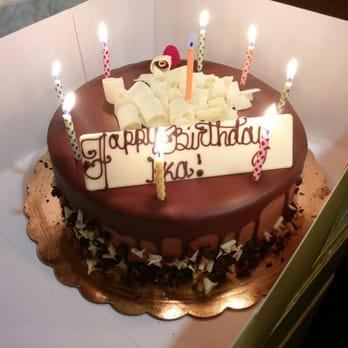 Portos Glendale Birthday Cake