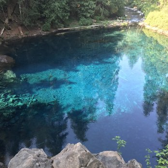tamolitch blue pool. Simple Blue Photo Of Tamolitch Falls  The Blue Pool River OR United States To
