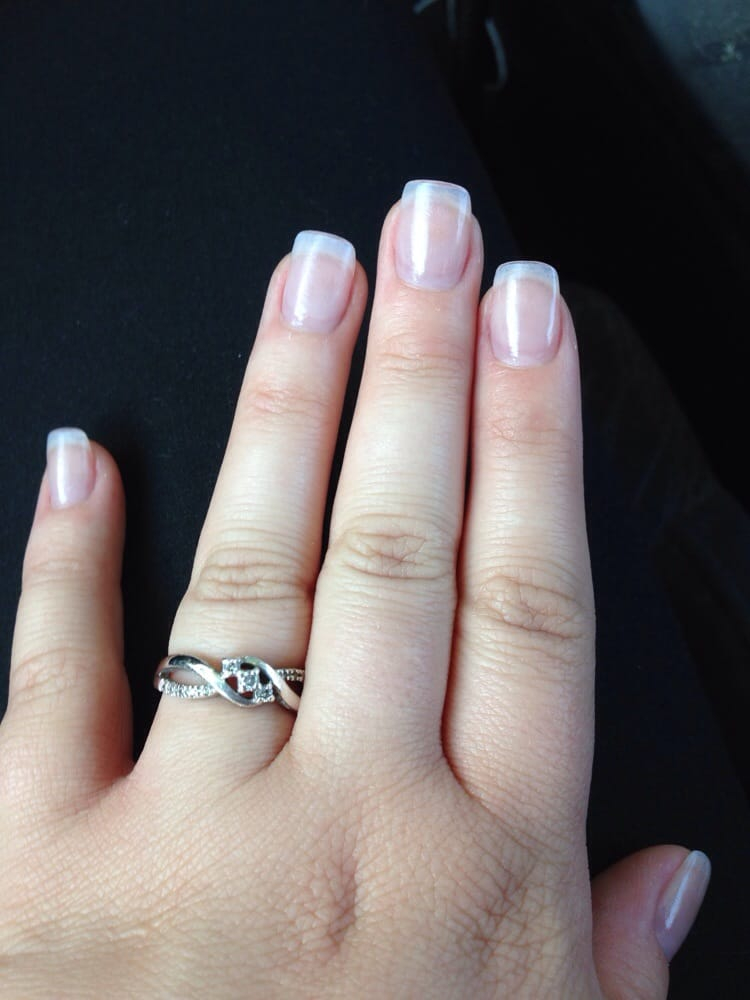 Believe it or not, these aren\'t my real nails. Tina has a way of ...