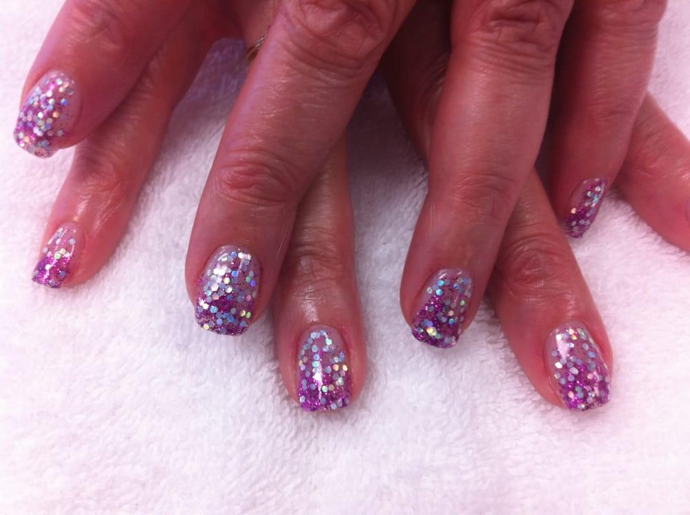 Shellac Glitter Nails Yelp