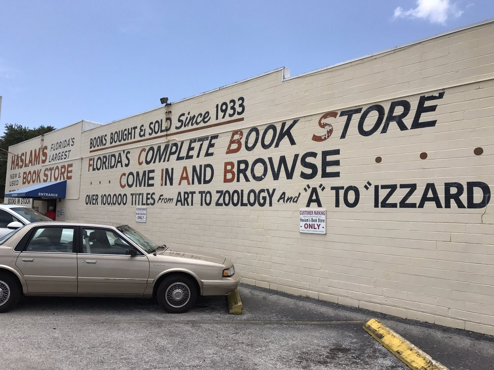 Haslam's Book Store: 2025 Central Ave, St Petersburg, FL