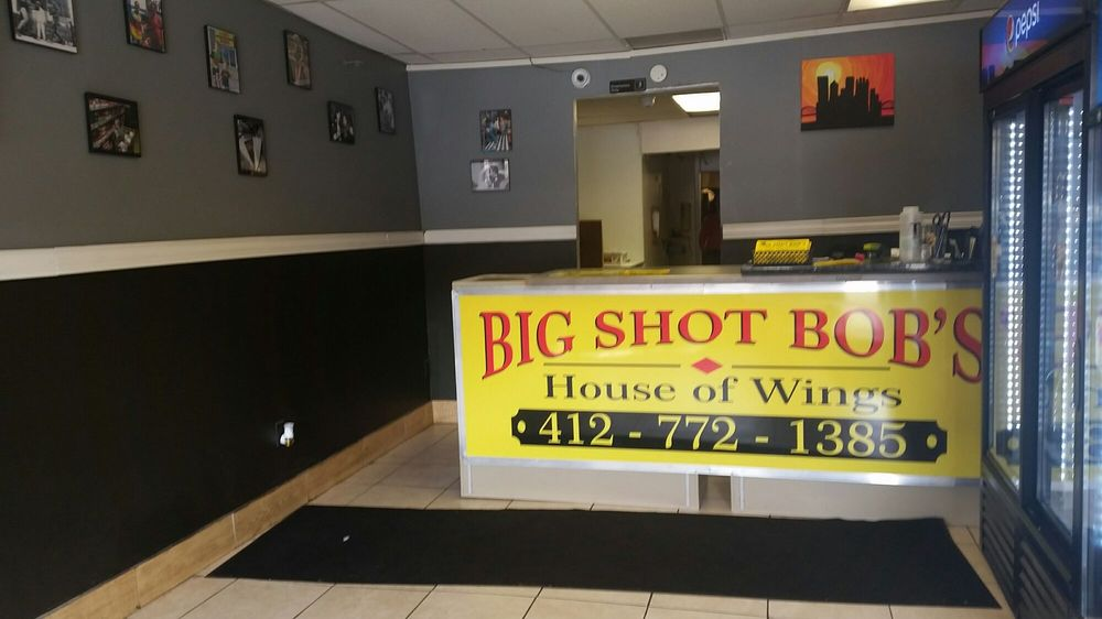 Big Shot Bob's House of wings: 918 Main St, Pittsburgh, PA