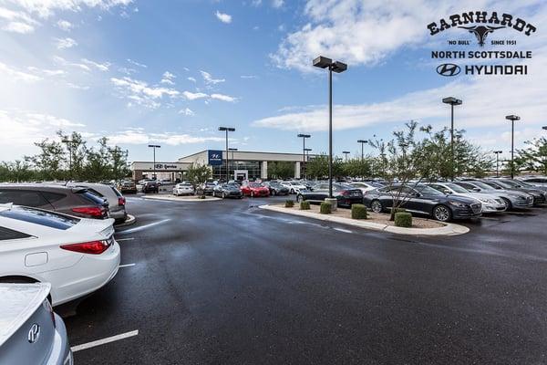 Earnhardt Hyundai Scottsdale >> Earnhardt Hyundai North Scottsdale 8445 E Frank Lloyd Wright Blvd