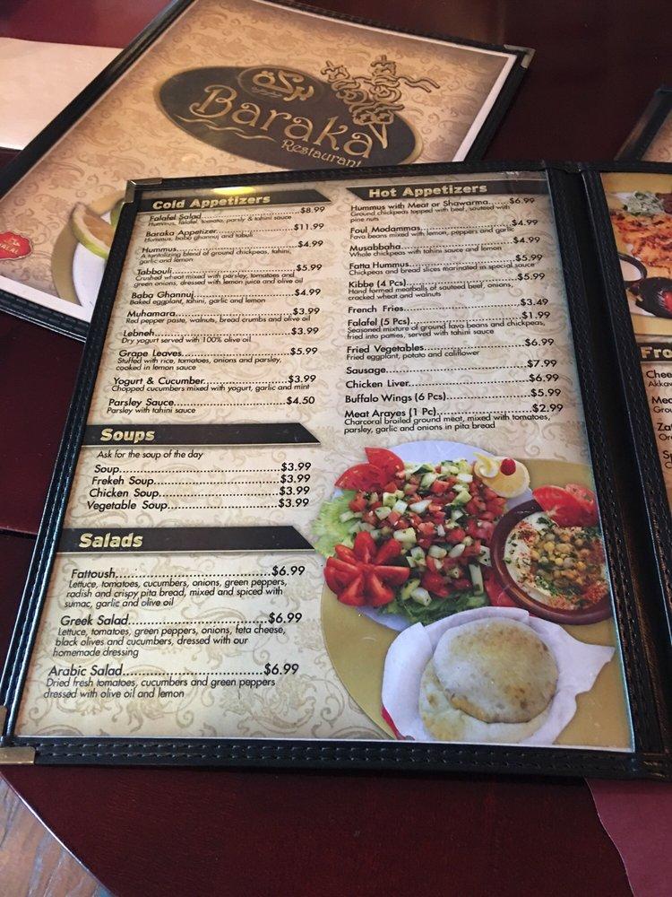 Baraka - Order Food Online - 53 Photos & 57 Reviews - Middle Eastern