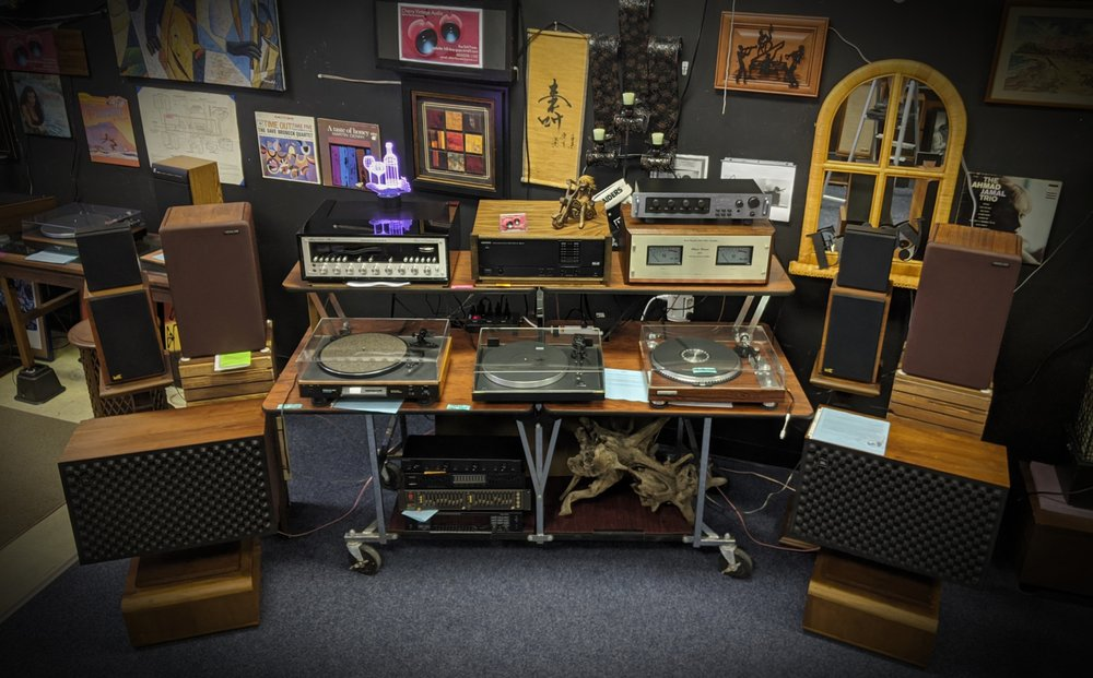 Cherry Vintage Audio: 510 Rutherford St, Greenville, SC