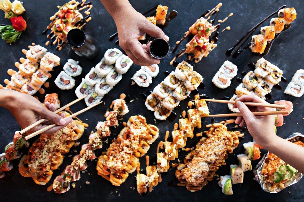 Rock N Roll Sushi: 1224 Main St, Little Rock, AR
