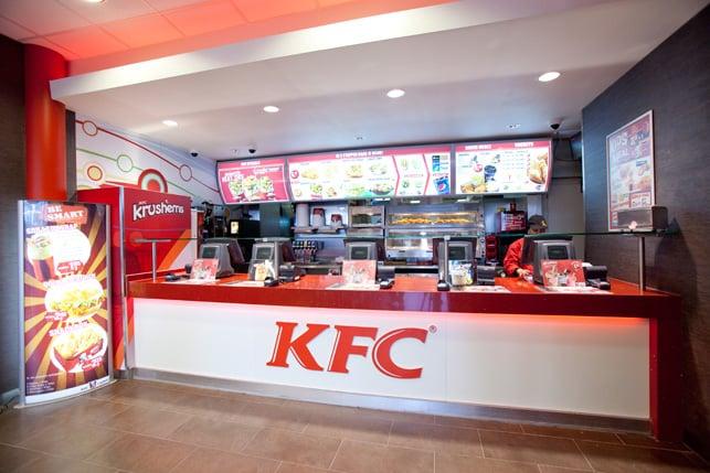 Fastfood Keuken Inrichting : KFC Fast Food Vredenburg 13, Utrecht, Pays Bas