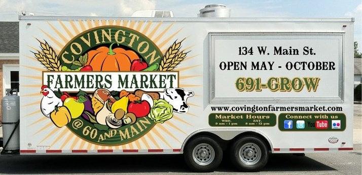 Covington Farmers Market: 134 W Main St, Covington, VA