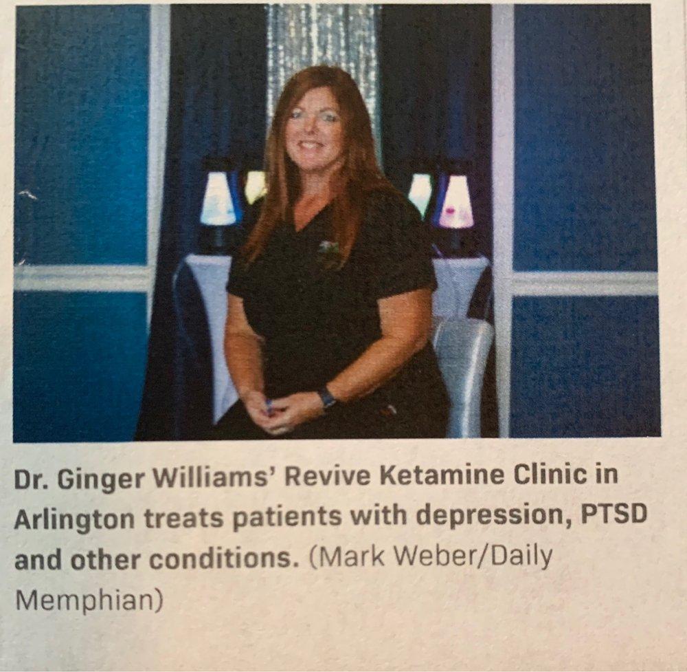 Revive Ketamine Clinic: 6220 Green Lee St, Arlington, TN