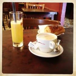 Foto de Pâtisserie Viennoise , París, Paris, Francia. Formule petit  déjeuner fresh