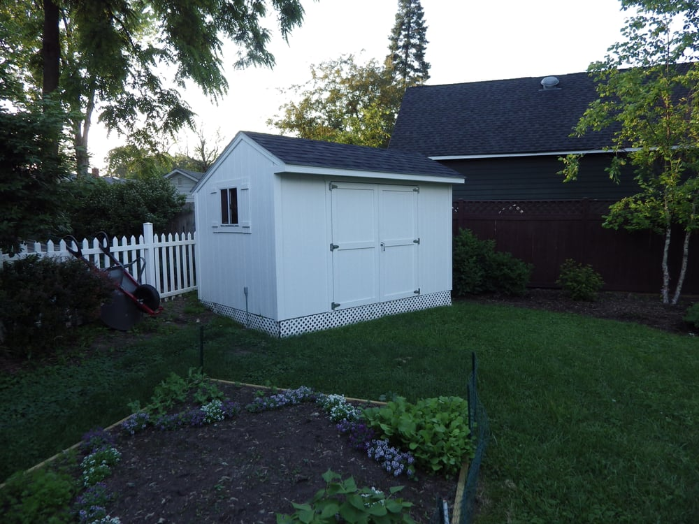 Tuff shed installed in hours, bought from Home Depot - Yelp