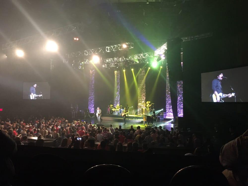 Hard rock casino tulsa concert seating