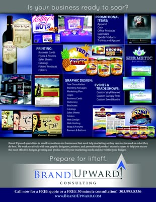 Brand Upward Consulting Parker, CO Marketing Programs & Services