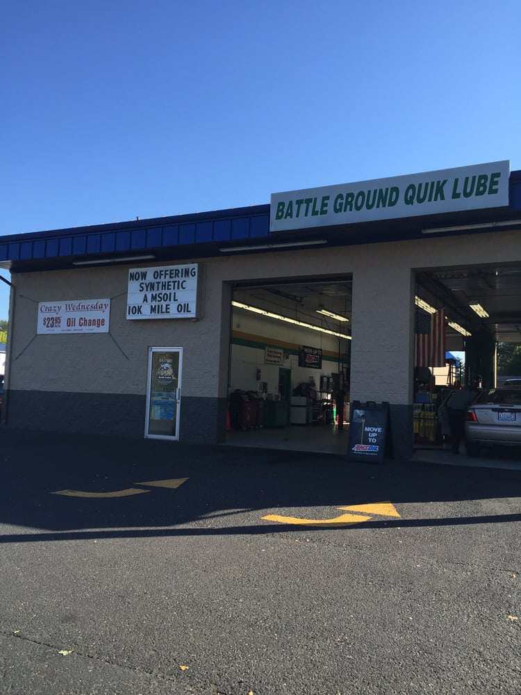 Battle Ground Quik Lube: 1713 W Main St, Battle Ground, WA